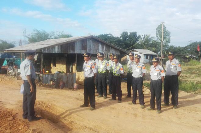 kone baung security service,security service in myanmar, security service in yangon